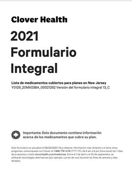 2021 Formulario Integral NJ