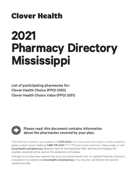 2021 Pharmacy Directory Mississippi